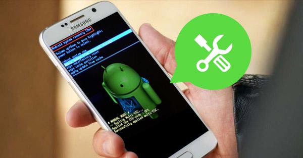 Android sistema de recuperación <3e> error en Android