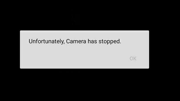 """Corregir """"Desafortunadamente, la cámara se detuvo"""" en Android"""
