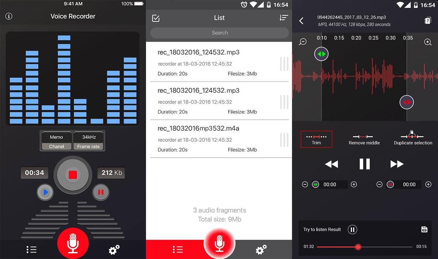 recuperar notas de voz eliminadas en Android