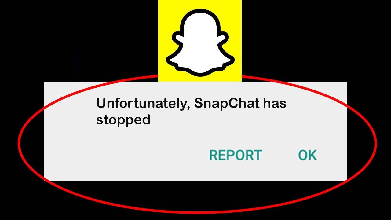"""Solucionar """"Desafortunadamente, Snapchat se ha detenido"""" en Android"""
