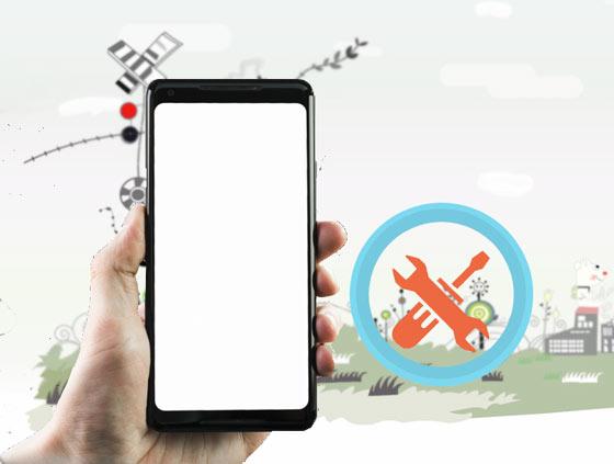 reparar la pantalla blanca de la muerte de Android