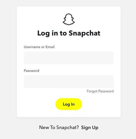 login-to-snapchat