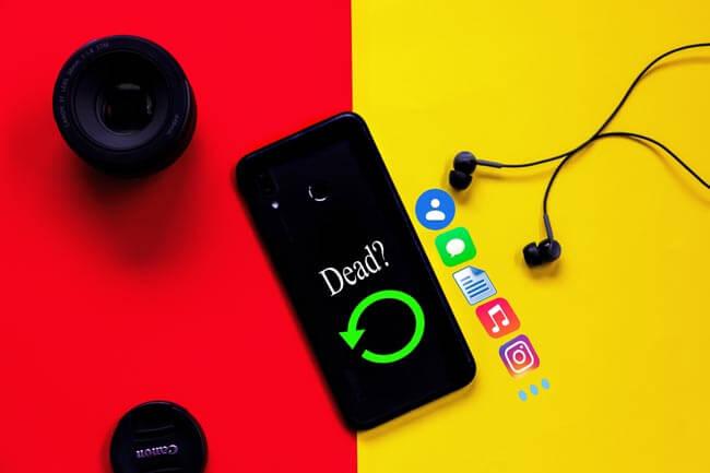Recuperar Datos de Teléfono Android muerto