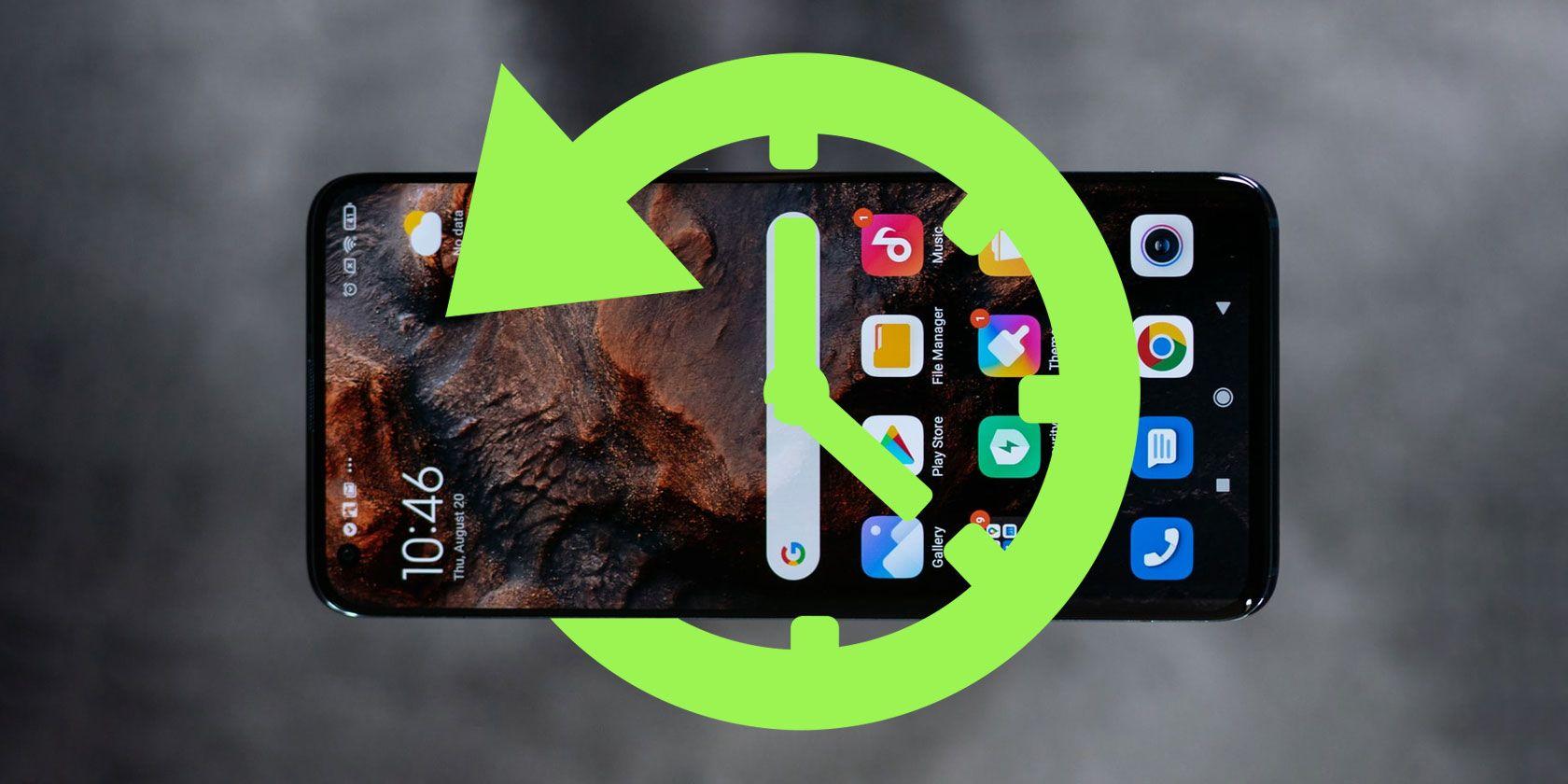 recuperar Datos de la aplicación eliminados en el teléfono Android